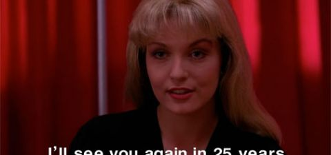 I'll see you again in 25 years #laura #palmer #twin #peaks