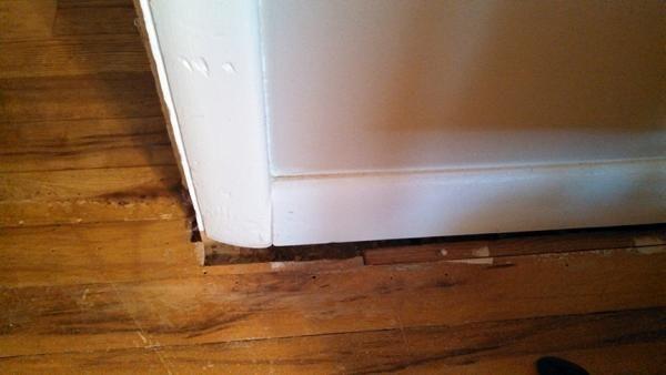 How To Handle Gaps Between Floor And Wall Trim Doityourself Com Community Forums In 2020 Flooring Laminate Hardwood Flooring Wood Laminate Flooring