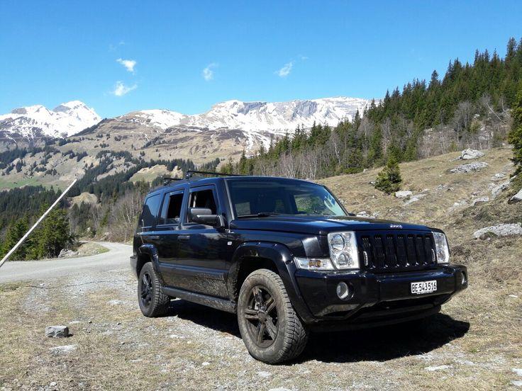 Jeep Commander - Full black