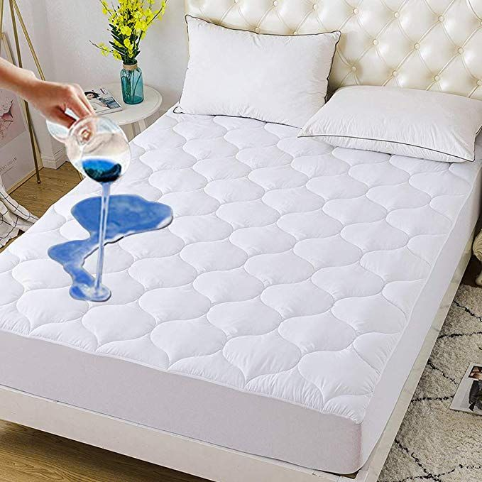 Downcool Waterproof Mattress Pad Cover Hypoallergenic Breathable