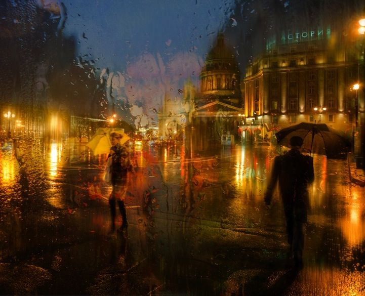 When you first look at these beautiful wet and gloomy city scenes, you'd assume they were oil paintings. In actual fact, they're photographs, taken by Eduard Gordeev, a talented photographer from Saint...