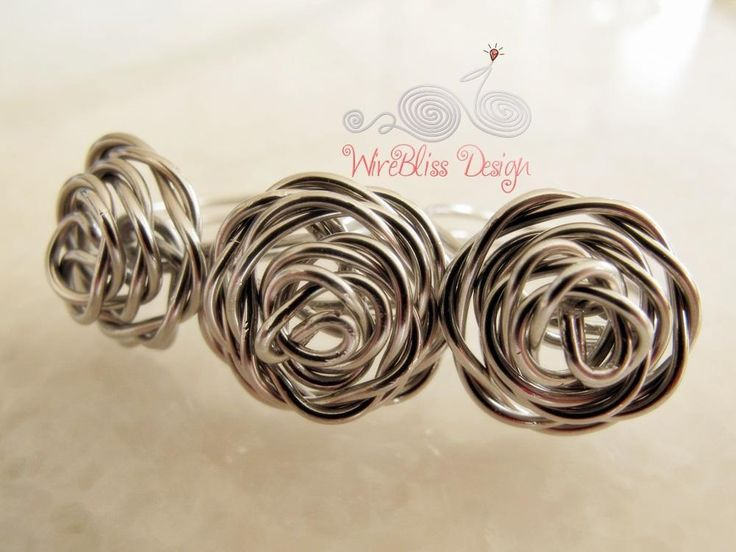 Learn How to Make Your Own Wire-Wrapped Rings. // ♡ BEAUTIFUL ROSE!!! ♥A