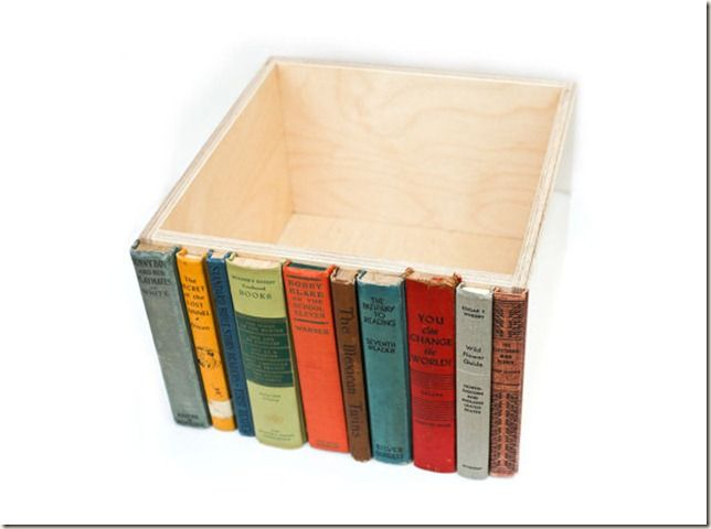 SO cute! use from books turned into notebooks and binders or use bindings for book marks... find used for the pages