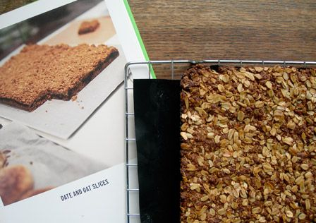 Oaty Date Squares