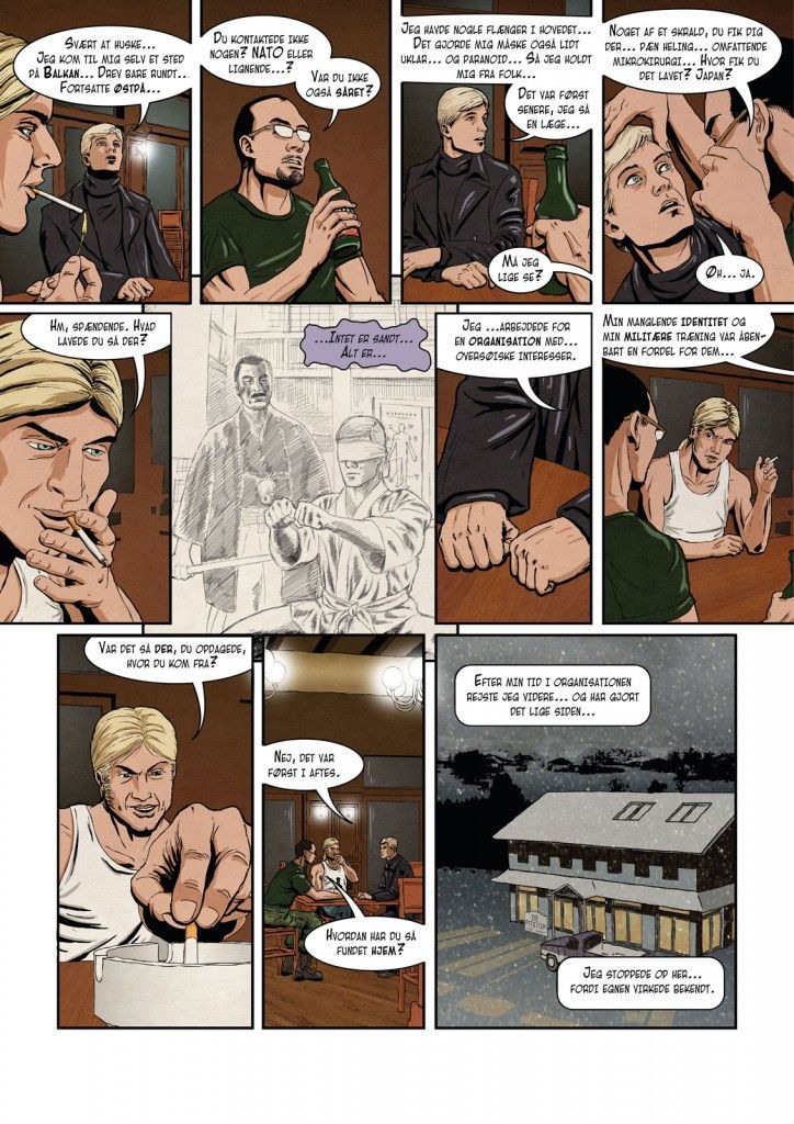 """Act 1 , page 24 of """"The Wild Hunt"""""""