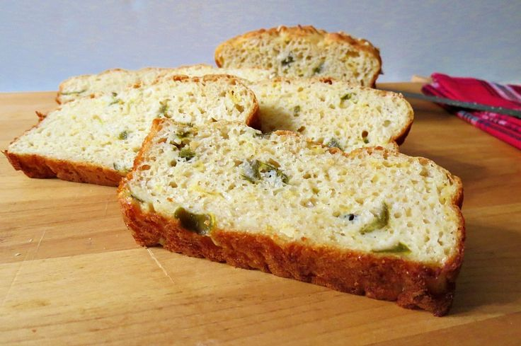 Jalapeno Cheese Bread ~ Bliss! I may add bacon to mine :)