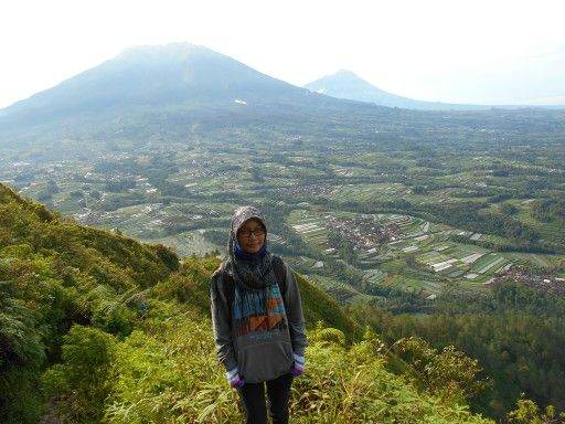 This was my first time to climb mountain. Worth the scenery.  Location : Mt. Andong