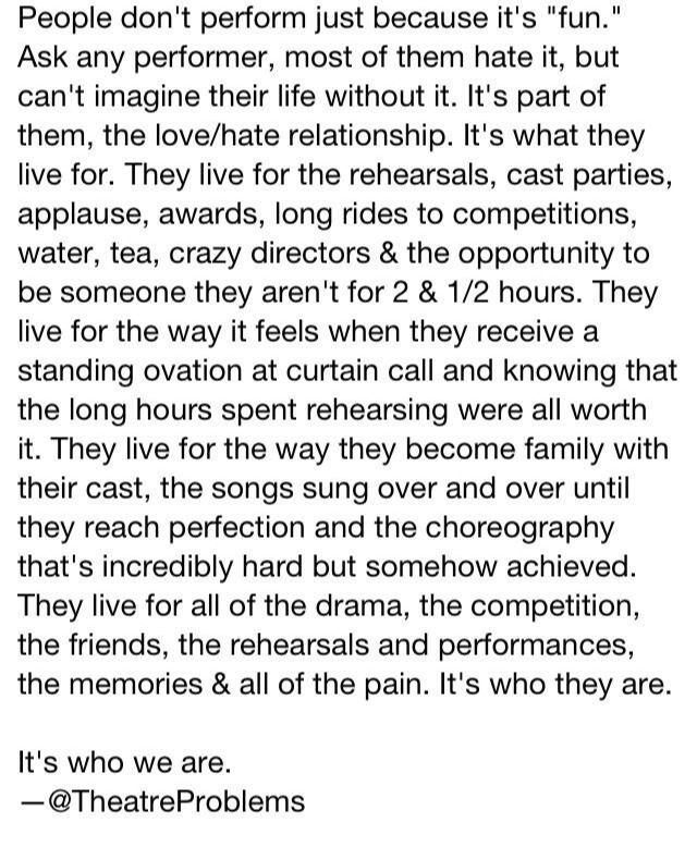 HOLY CRAP, THIS IS SO FREAK'N TRUE!!!! I COULD CRY RIGHT NOW!!!!!! #mylifeinanutshell #theatre #moezart