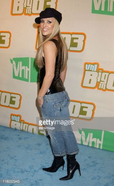 Jillian Barberie during VH1 Big In '03 - Arrivals at Universal Amphitheater in Universal City, California, United States.