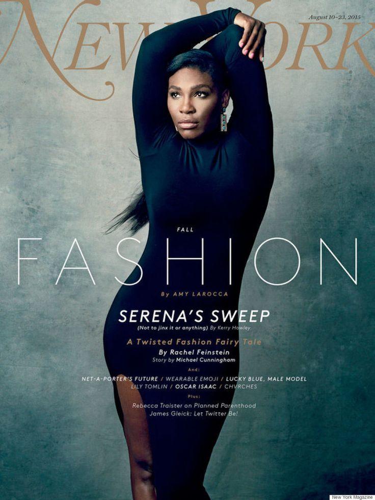 Serena Williams New York' magazine's fashion issue Aug 2015