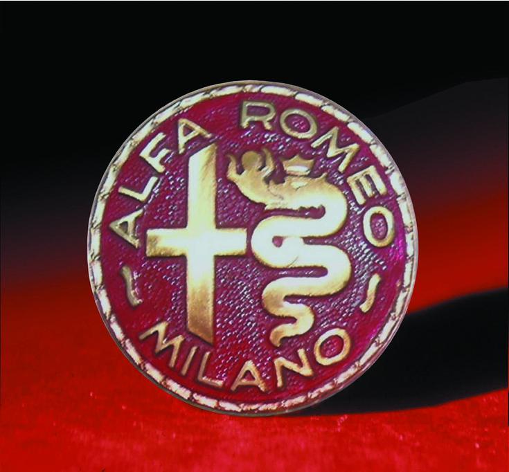 Logo Alfa Romeo 1945 - 1950: Logo Alfa, Manufacturers Logos, Alfa Romeo, Romeo Logos, Alfa Logo, 1950, Alfaromeo