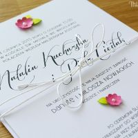 Wedding invitation LITTLE FLOWERS