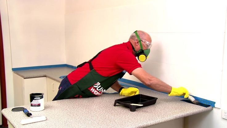 How To Paint A Laminate Benchtop - D.I.Y. At Bunnings ...