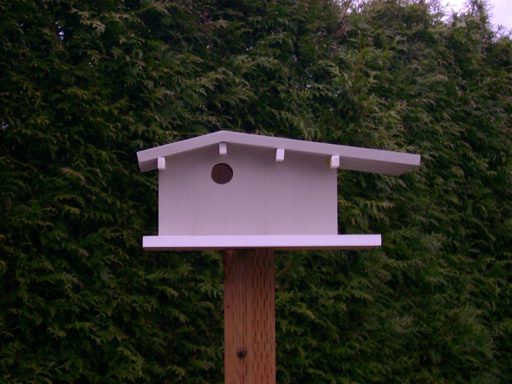 Mid Century Birdhouse