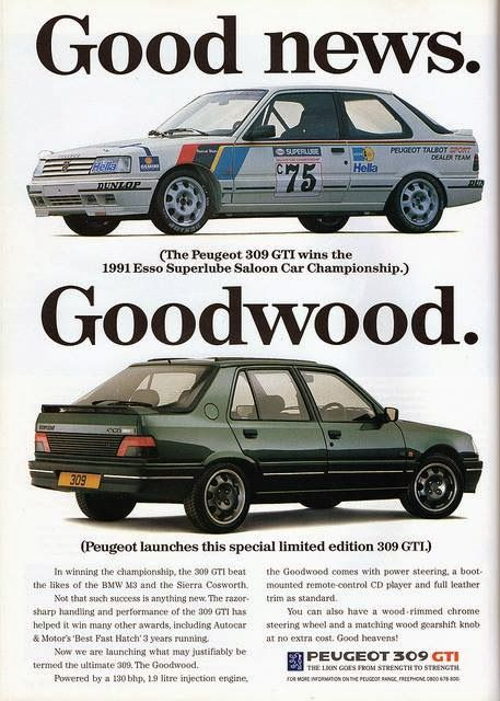 Peugeot 309 GTI Goodwood