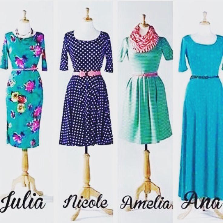 LuLaRoe dress styles comparison.   Shop these styles here:  https://www.facebook.com/lularoenicoleberry