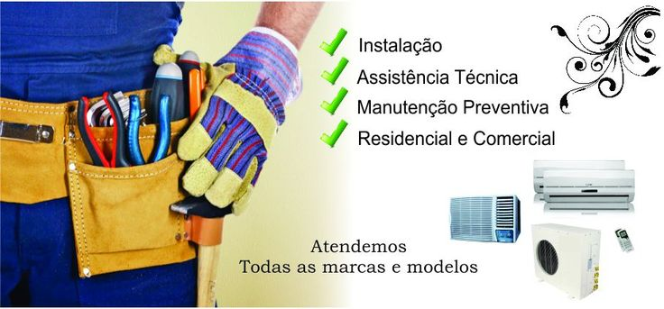 Ar Condicionado RJ - Instalação, Manutenção e Limpeza Ar Condicionado Split RJ