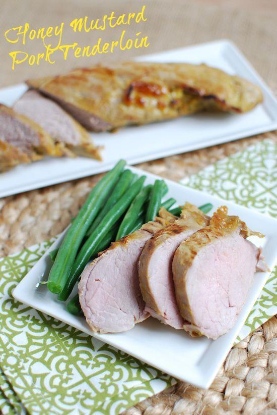 Simple marinade for Honey Mustard Pork Tenderloin, or other meats @lclivingston