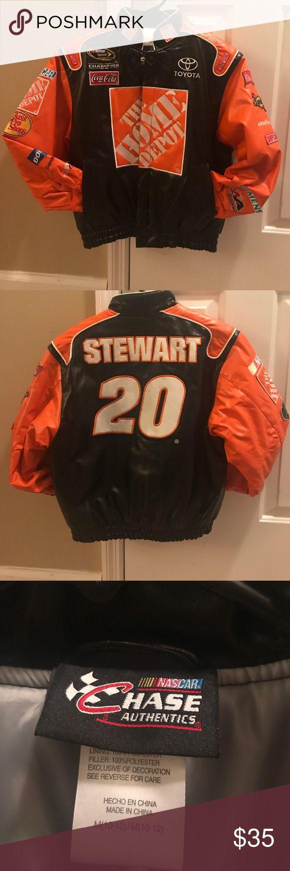 Kids NASCAR Jacket Kids nascar jacket size 10-12 never worn chase authentics Jackets & Coats Puffers