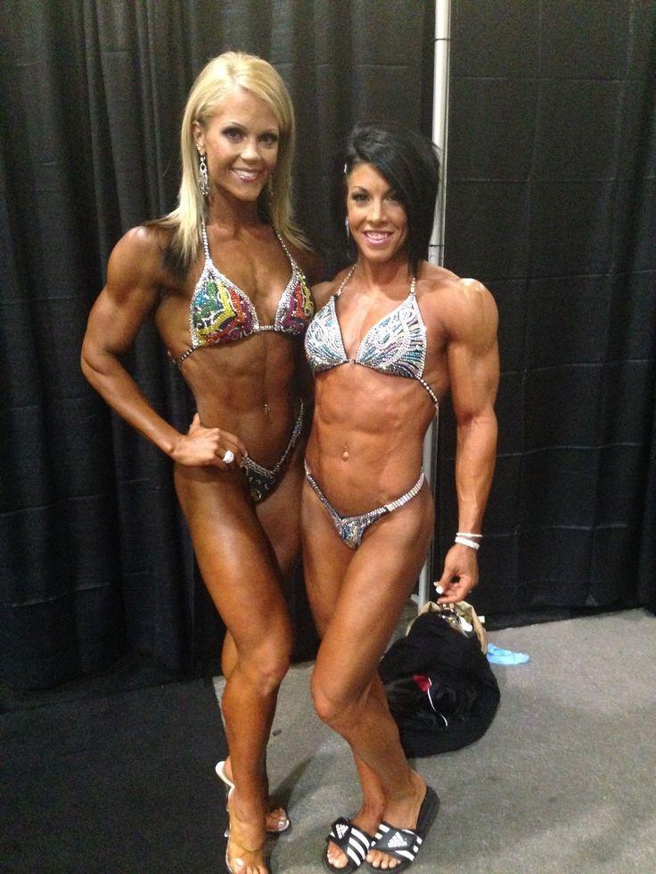 Nicole wilkins amp dana linn bailey olympia 2013 fitness models