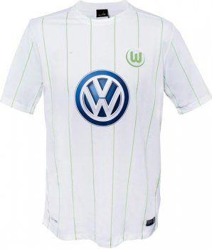 Wolfsburg Away 16-17 Cheap Replica Jersey [F755]