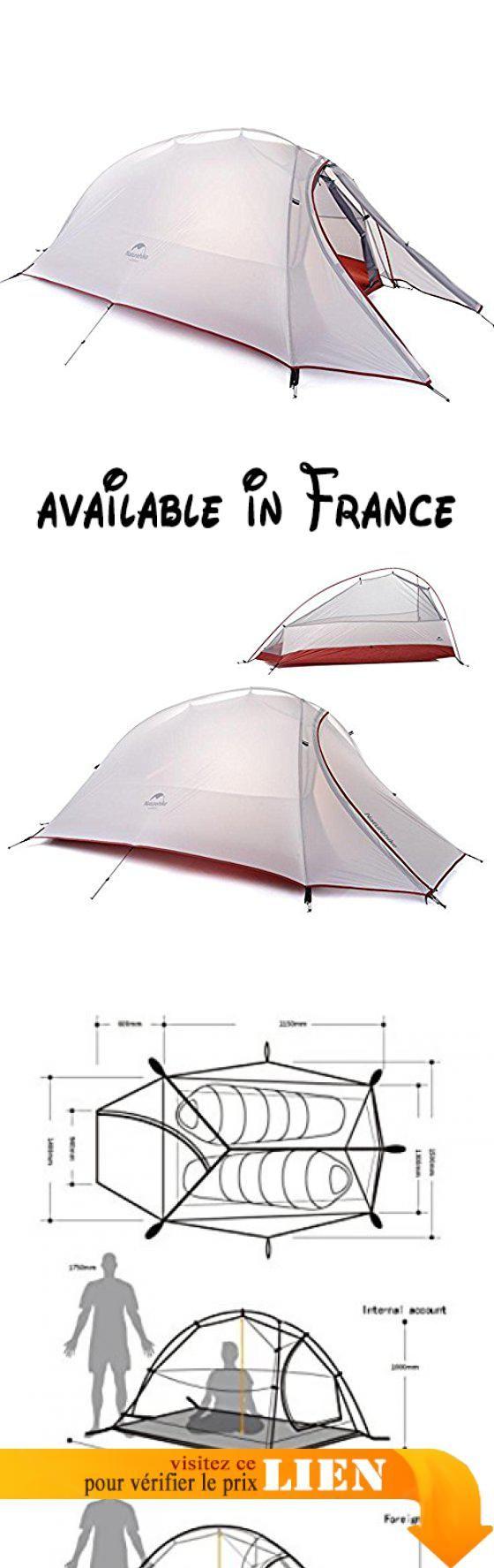 B0778TNW3D : Camping Camping Ultra-léger en aluminium Pôle Double couche Tente anti-pluie  gray  double. Grande tente de camping imperméable et portable de haute qualité idéale pour la randonnée les voyages le camping et d'autres activités de plein air. Offre une excellente protection contre les intempéries contre la pluie et les rayons UV installation rapide et facile. Prévoir assez d'espace pour 1-3 personnes matériel de tissu de treillis en nylon imperméable