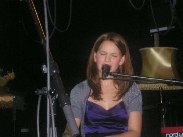 Marit Larsen, University Student Union bar in Drammen, Norway, 2008, Provided by: Andy Smith