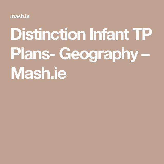 Distinction Infant TP Plans- Geography – Mash.ie