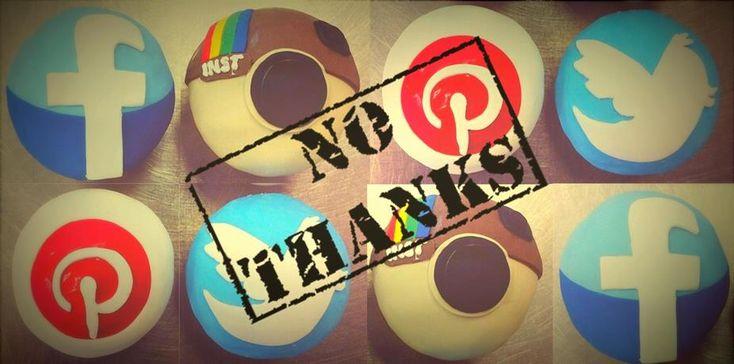Tu marca corporativa NO debe estar en redes sociales