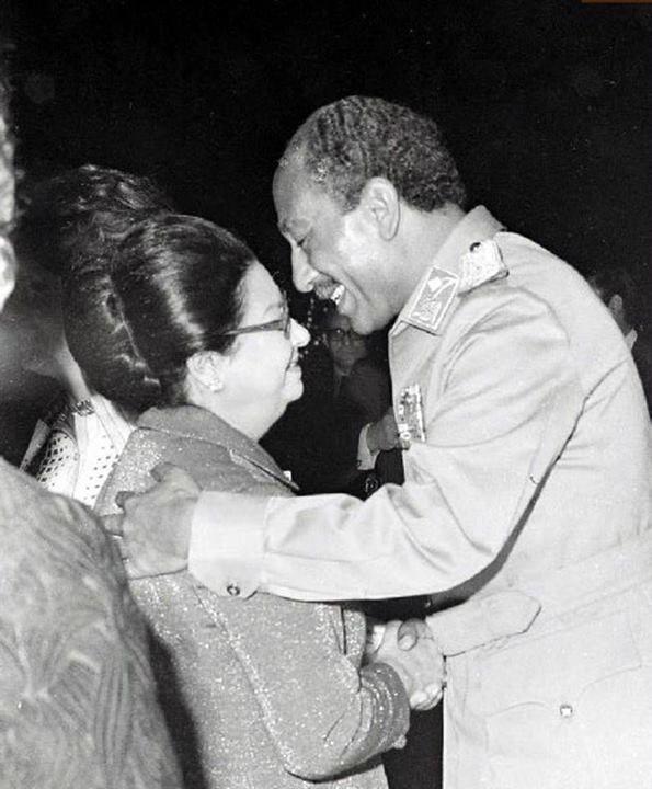 Umm Kulthum and Sadat