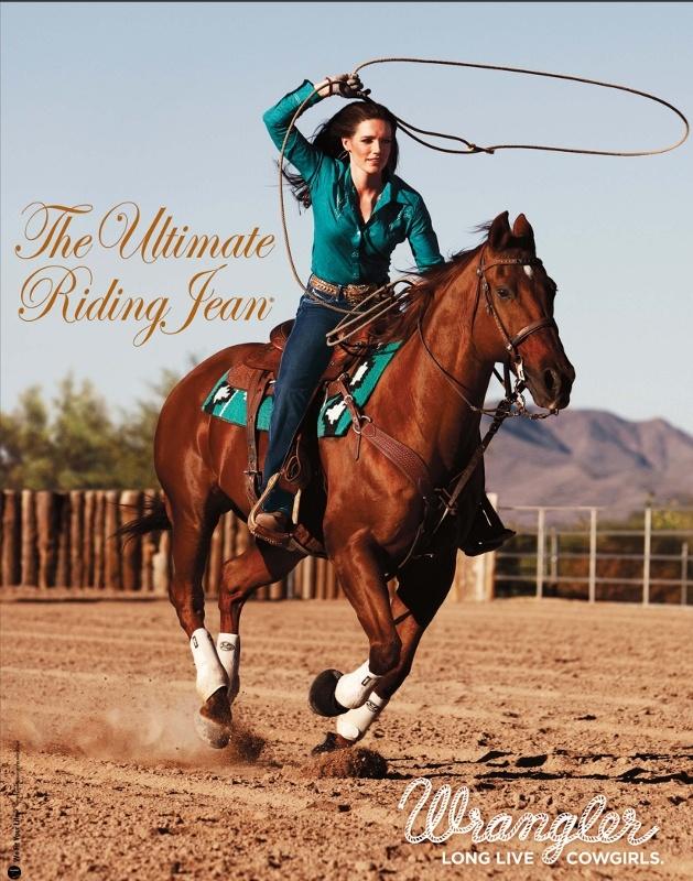 Cowgirl riding cowboy-7814