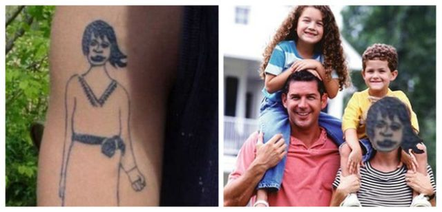When Tattoos Fail, You End Up with This (13 pics) - Seriously, For Real?