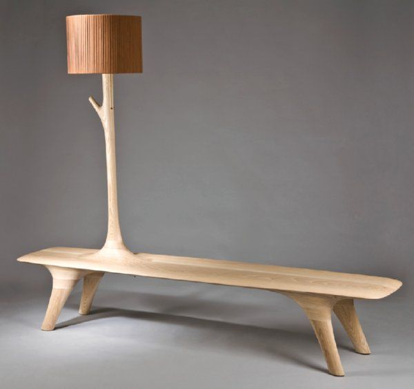 Bench Inspiration/Grow Up the Light Bench -- www.kwonjaemin.com