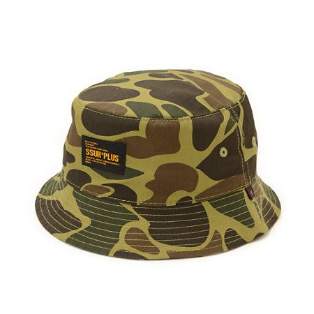 This bucket hat is made with soft blended construction in an allover duck camo prints you can look your best from the streets to the forest.
