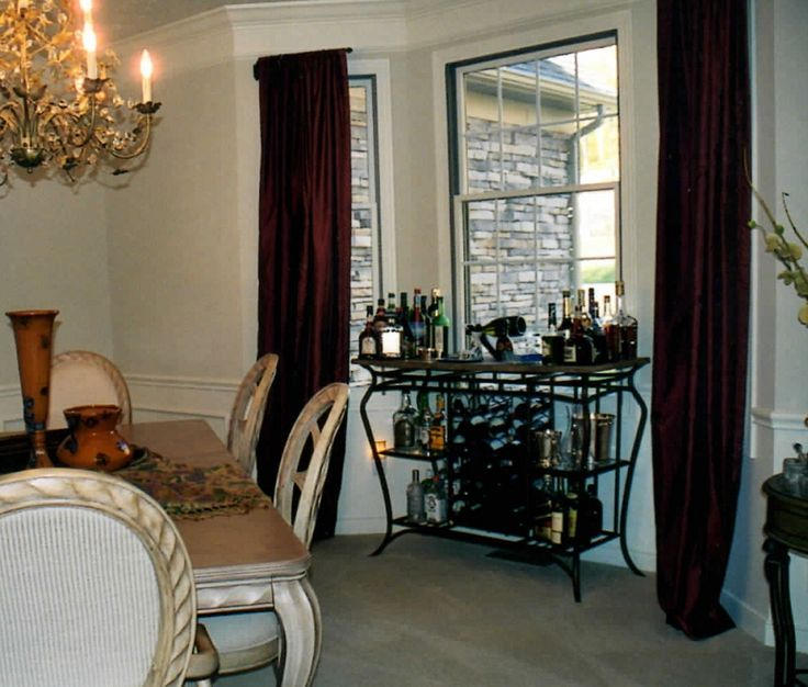 Living Room Burgundy Curtains : Elegance Burgundy Curtains .