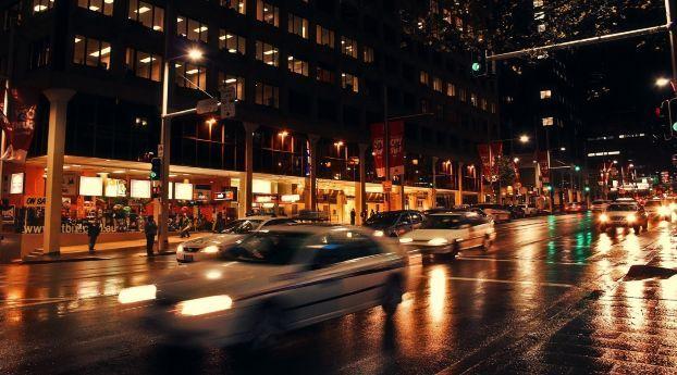 Iphone X 4k Wallpapers Night City Lights Street 4k Ca 7501334 Download Free City Lights At Night Photography Wallpaper Hd Wallpaper