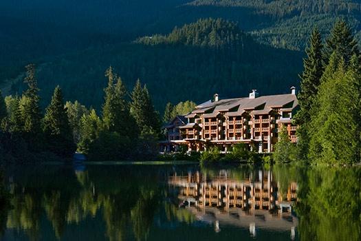 10 scenic outdoor wedding destinations -- Nita Lake Lodge, Whistler, British Columbia, Canada