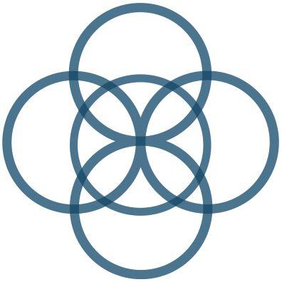 Celtic Symbol For Balance Five-fold knot: