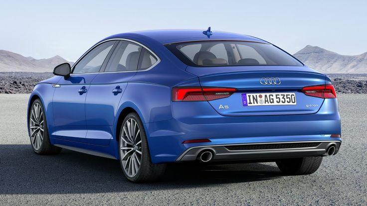2017 Audi A5 Sportback g-tron - Drive Interior and Exterior