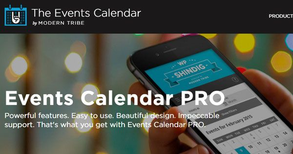 awesome The Events Calendar PRO v4.4 - WordPress Plugin Download
