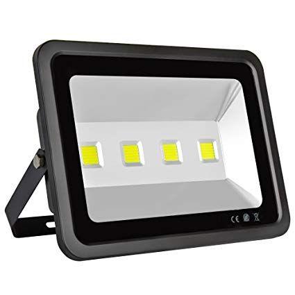 LAPUTA 200W Super Bright Led Flood Lights, 4 LED Lights, 20000lm - resume yard reviews