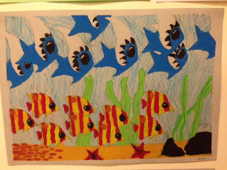 Trooppiset kalat - sabluunatyö