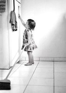 Eight ways to get your kids to help out around the house.