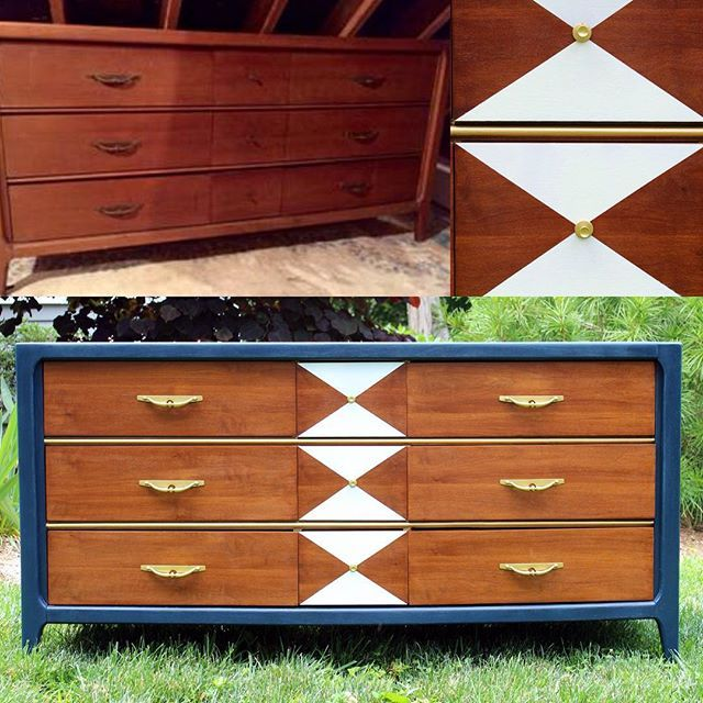 77 best mid century furniture images on pinterest for Painted mid century modern furniture