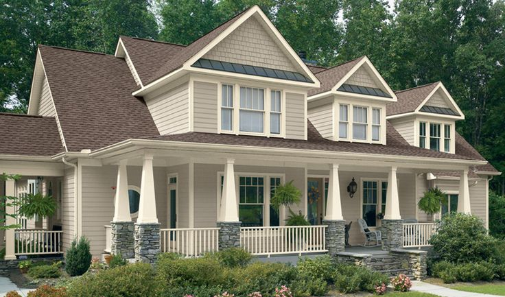Valspar Aspen Gray House Asiago Trim Humboldt Earth Roof