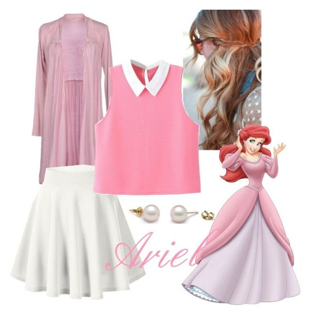 """""""Ariel Disneybound"""" by devih on Polyvore featuring Bleifrei, Disney and WithChic"""