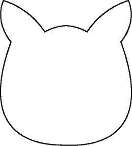 133 best theme pete the cat art images on pinterest pete the best cat head template i have found use for pete the cat or other cat pronofoot35fo Gallery