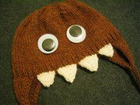 What little kid wouldn't love this cute Brainmonster Hat? Use this free knitting pattern to make a cute, and kind of scary, monster hat.
