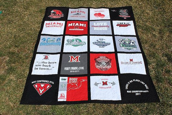 Custom Made TShirt Quilt DEPOSIT ONLY by JJsQuilting on Etsy, $50.00