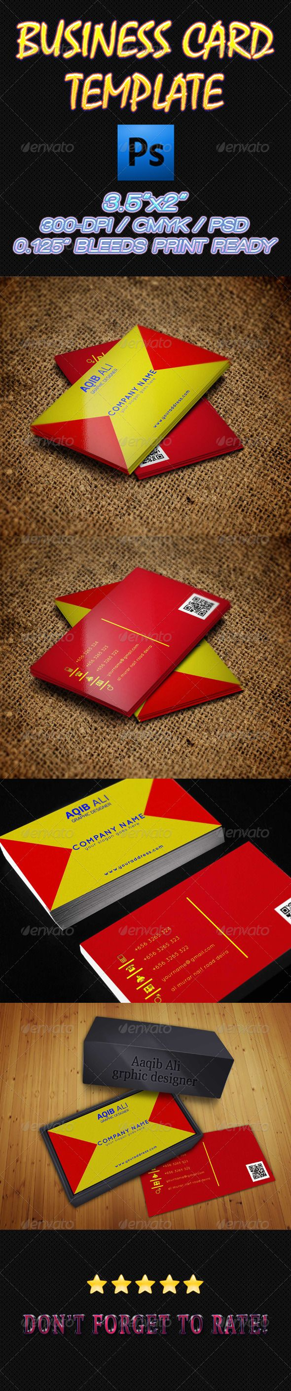 7 best Business Cards Template images on Pinterest | Business card ...